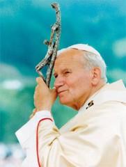 Saint Jean-Paul II prie pour la vie