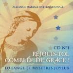 CD de louange n°1 : Réjouis-toi comblée de grâce