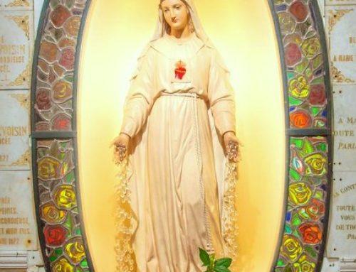 A Pellevoisin, la Vierge de miséricorde