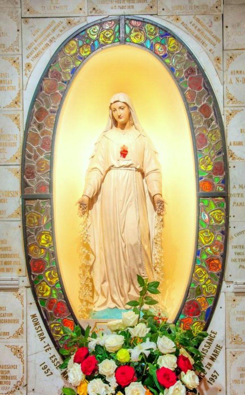Pellevoisin, les apparitions de Notre-Dame à Estelle Faguette
