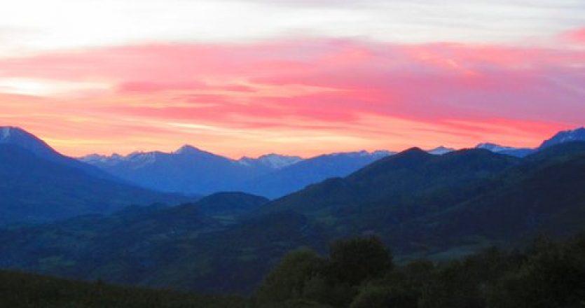 Notre-Dame du Laus, un lieu de toute beauté dans la montagne avec un grand panorama