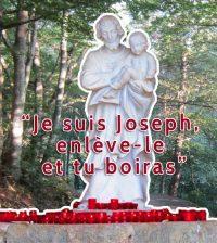 Apparition de Saint Joseph à Cotignac en 1660, après Marie en 1519