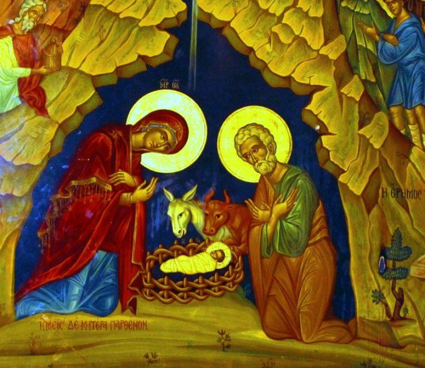 La Sainte Vierge Marie Mère de Dieu, icône à Bethléem